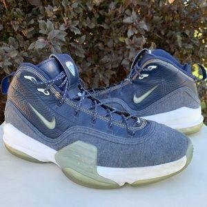 Nike Air Pippen 6 Denim Basketball Shoes Size 13